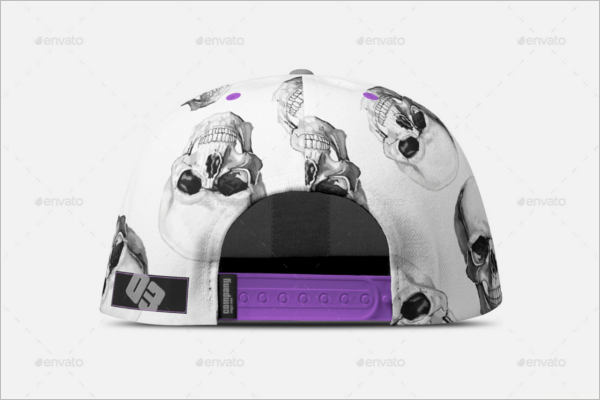 Abstract  Cap Mockup Design