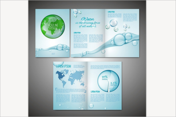 Abstract Environmental Brochure Template