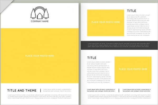 Abstract Real Estate Brochure Template