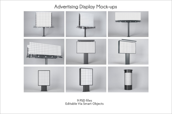 Advertising Display Mockup