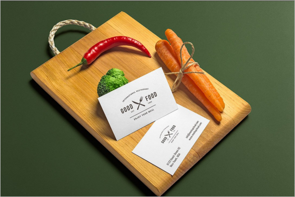 Advertising Restaurant Branding Mockup