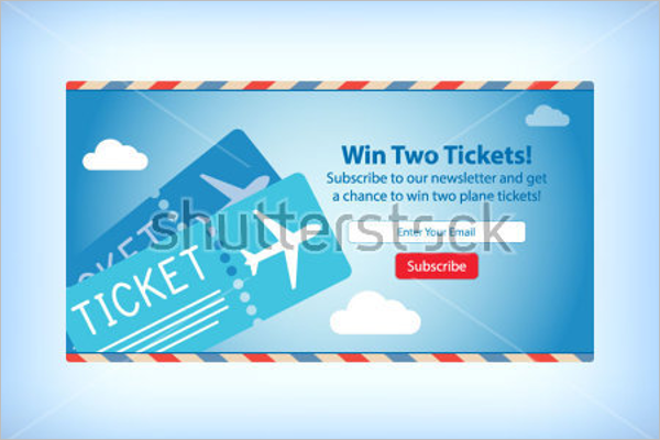 Airplane Tickets Mock-Up