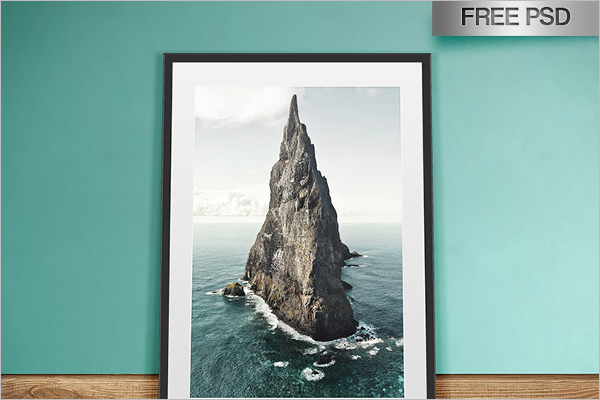 Artwork Mockup Template