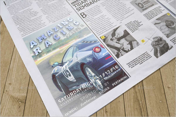 Automotive Advertisement Mockup