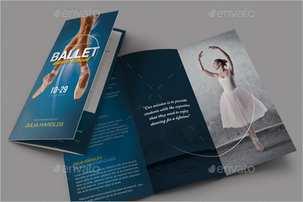 Ballet Workshop Brochure