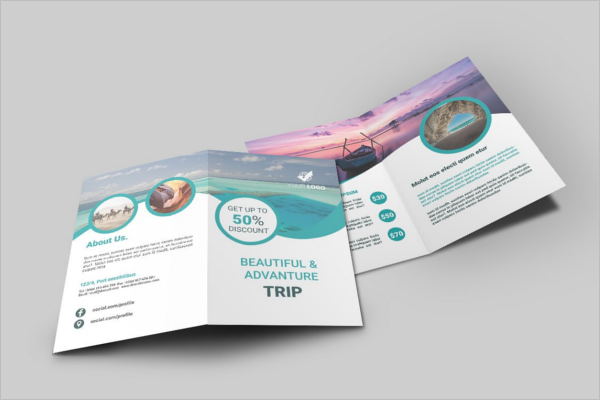 Beautiful Holiday Brochure Templatre
