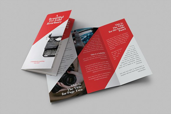 Beautiful Tri-Fold Brochure