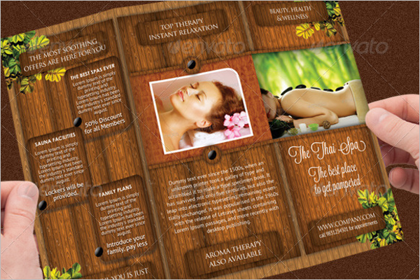 Beauty Spa PSD Brochure