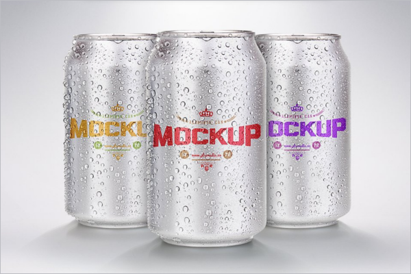 Best Can Mockup Design