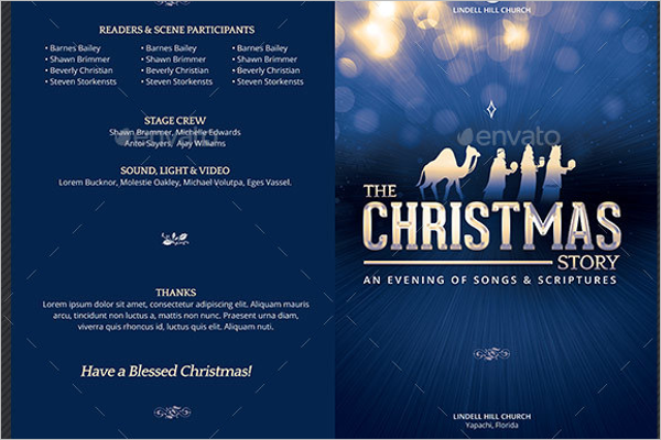 Best Christmas Brochure Template