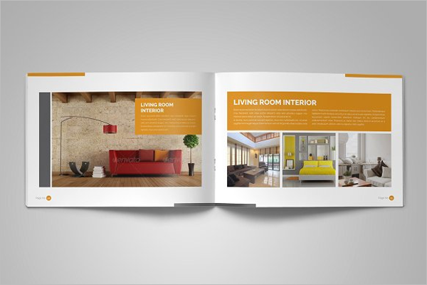 Bi-fold Interior Design Brochure