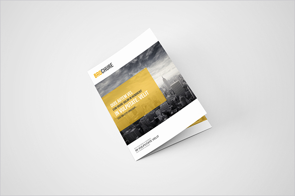 Bifold Brochure Design Download