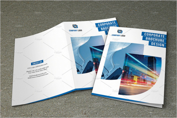 Bifold Brochure Illustrator