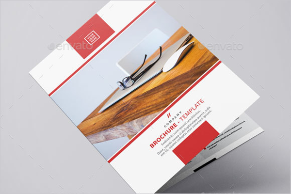 Bifold Brochure Indesign PSD