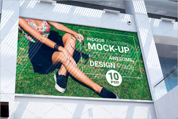 Billboard Advertising Mock-up