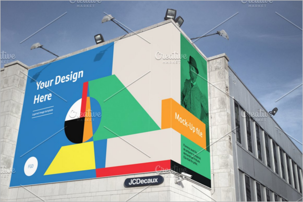 Billboard Design Mock-up