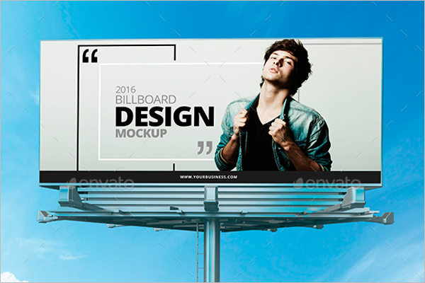 Billboard Display Mock-up