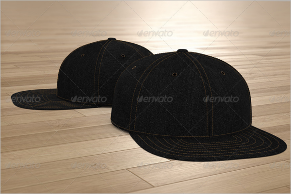 Black Cap Mockup Design