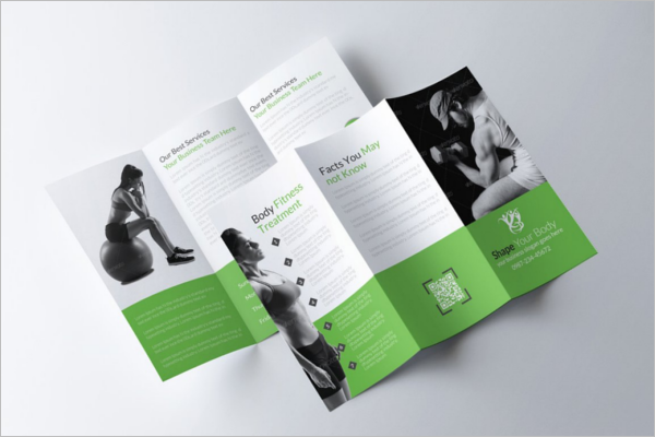 Body Fitness Brochure Template
