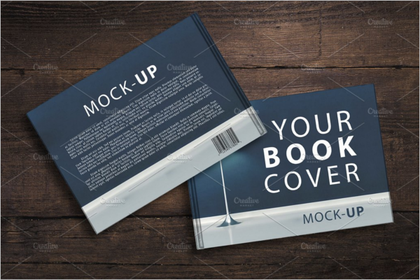 Book Back & Front Cover Mockup
