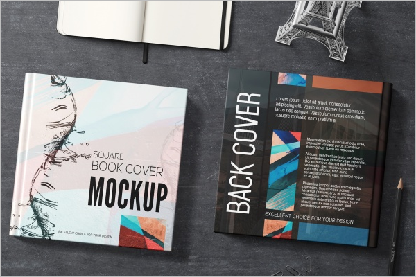 Book Cover Mockup Free