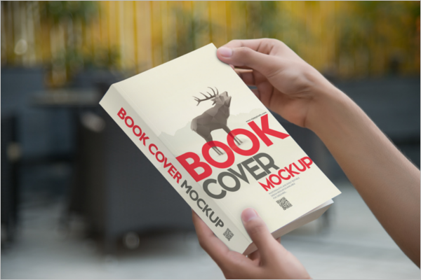 Book Cover Mockup Free Sample
