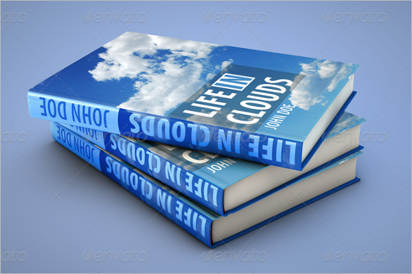 Book Cover Mockup Template