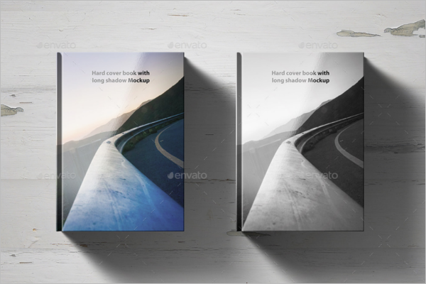 Book Cover Photoshop Mockup