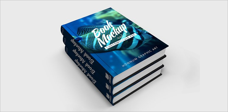 Book Mockup PSD Templates