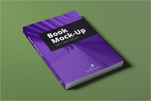 Book Spread Mockup Design