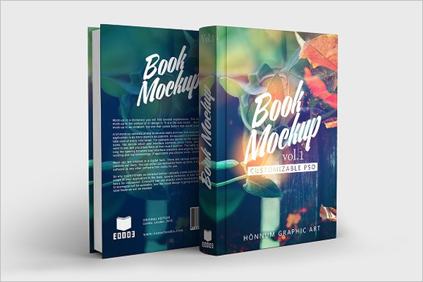 Book Spread Mockup