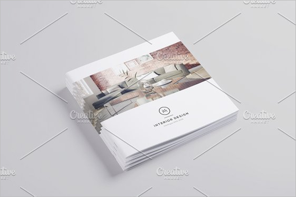 Booklet Interior Design Brochure