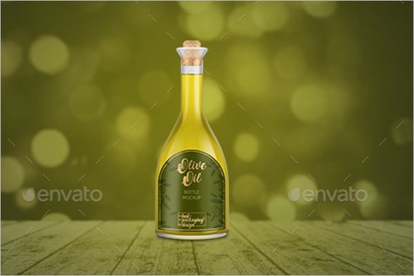 Bottle Mockup Template