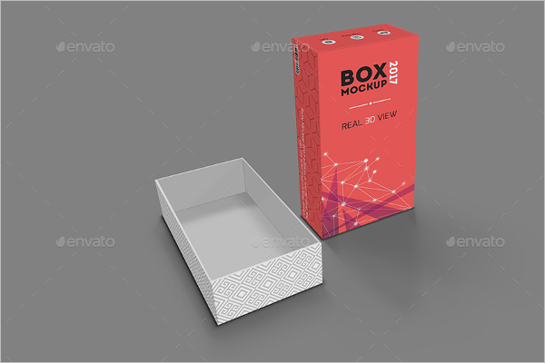Box Packaging Mockup Design