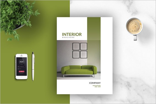 Branded Interior Design Brochure