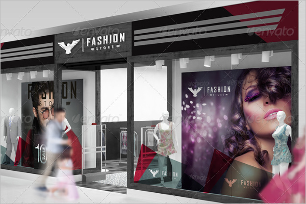 Branding Store For Fashion Mockup