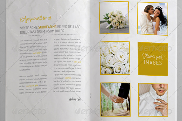 Bridal Brochure Template