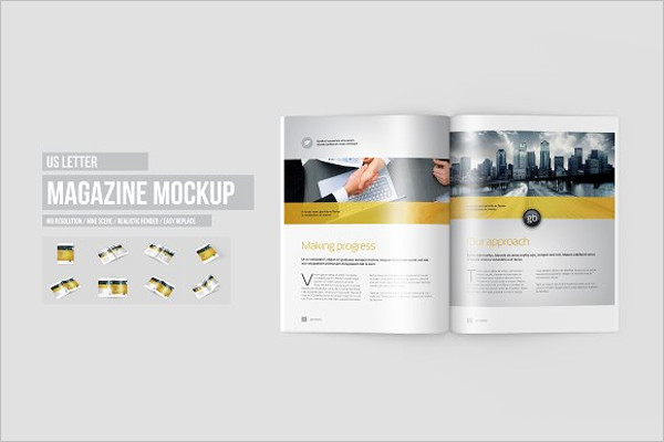 Brochure Background Mockup