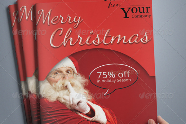 Brochure Booklet Christmas Design