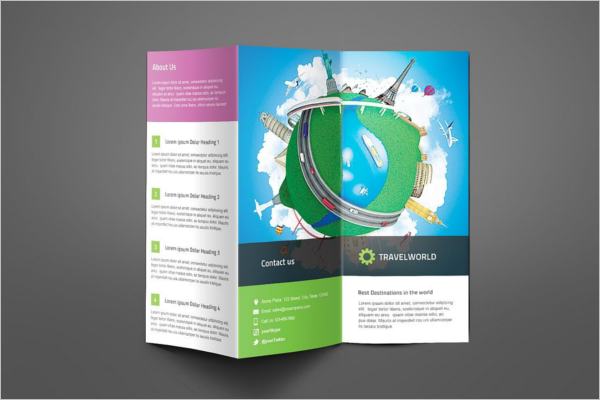Brochure Holiday Design