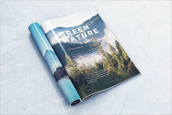 Brochure Layered Mockup