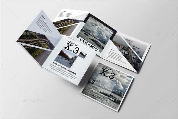 Brochure Marketing Mockup