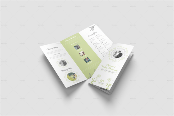 Brochure Wedding Template