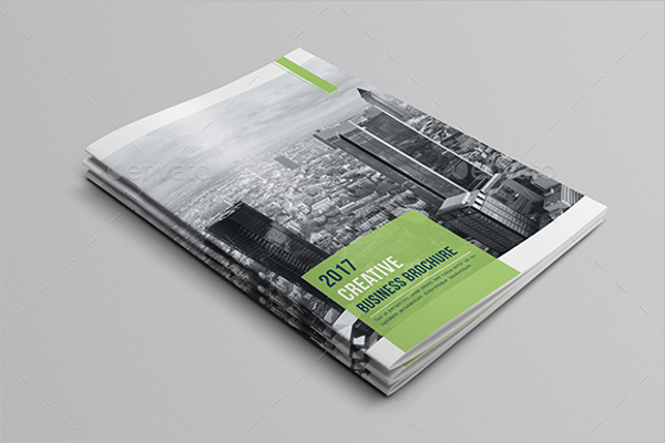 Business A4 Brochure Template