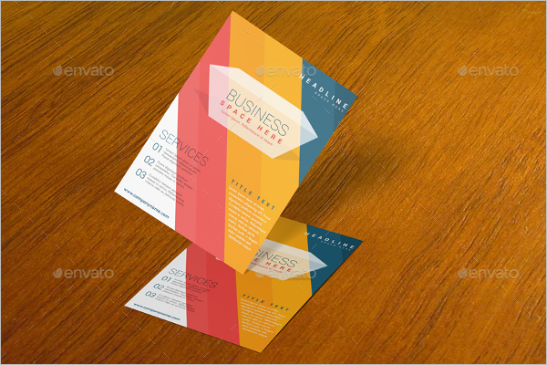 Business A4 Flyer Mockup Design