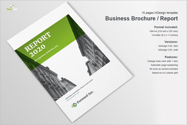 Business Brochure PSD Template