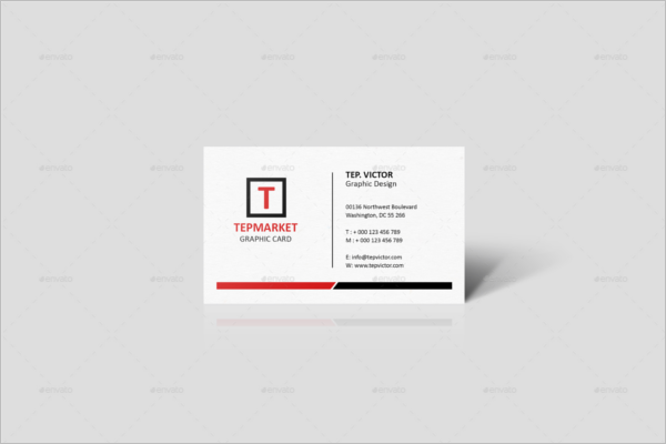 Business Card Object Mockup