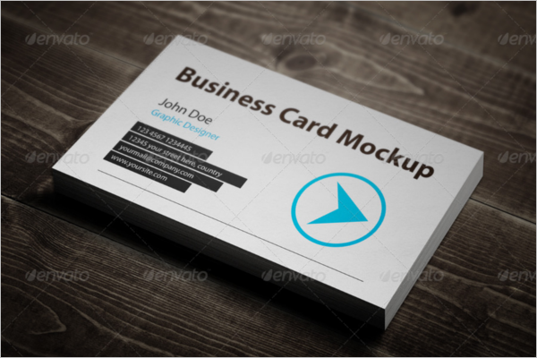 Business Card Texture Mockup