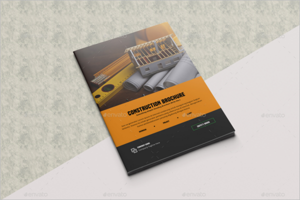 Business Construction Brochure Template