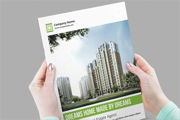 Business Real Estate Brochure Template